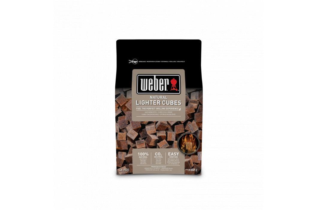 Weber Podpalovací kostky ekologické hnědé 48 ks