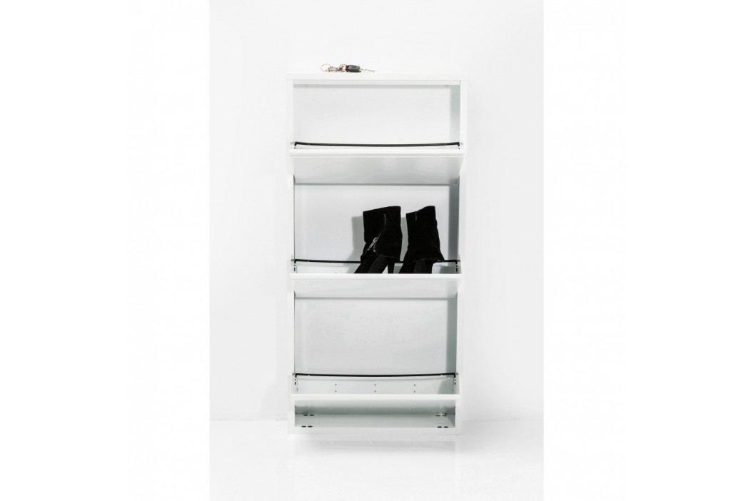 Bílý botník Kare Design Caruso