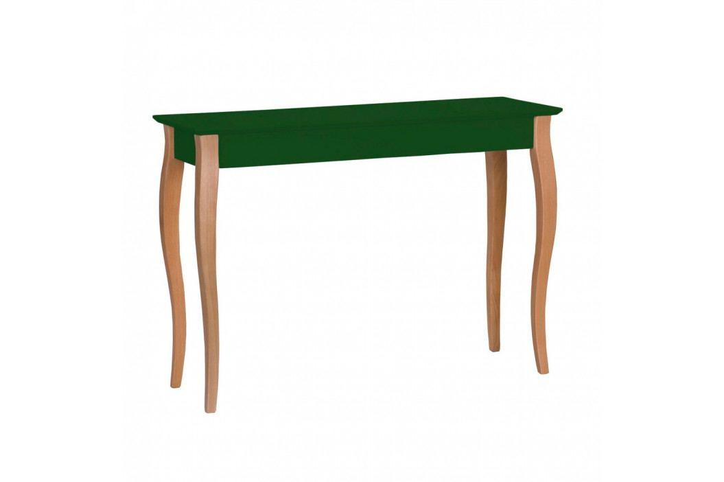 Tmavě zelený konzolový stolek Ragaba Lillo, šířka105cm