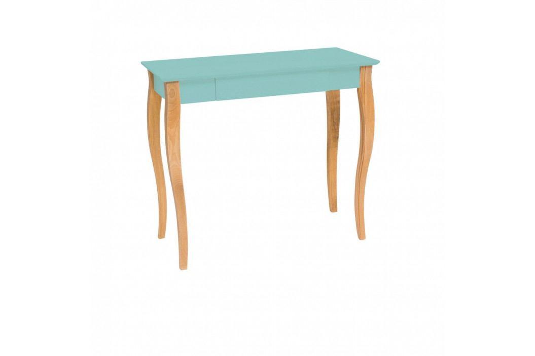 Světle tyrkysový psací stůl Ragaba Lillo, šířka85cm
