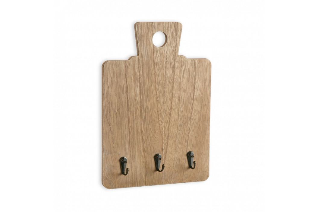Nástěnný věšák na klíče Versa Wooden Note