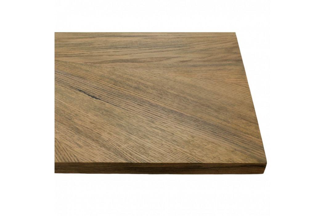 Stolní deska z dubové dýhy HSM collection, 220 x 100 cm