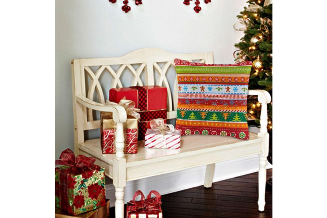 Polštář s výplní Christmas V3, 45 x 45 cm
