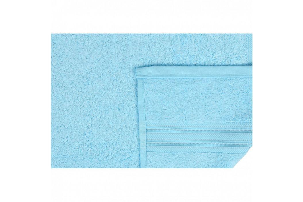 Světle modrá osuška Lavinya, 70x140cm