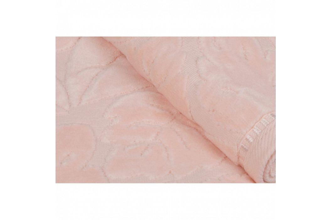 Sada 2 lososových ručníků z bavlněného saténu Madame Coco Velver, 50 x 90 m