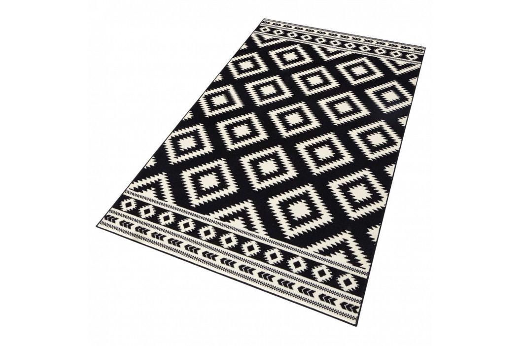 Černý koberec Hanse Home Gloria Ethno, 120x170cm