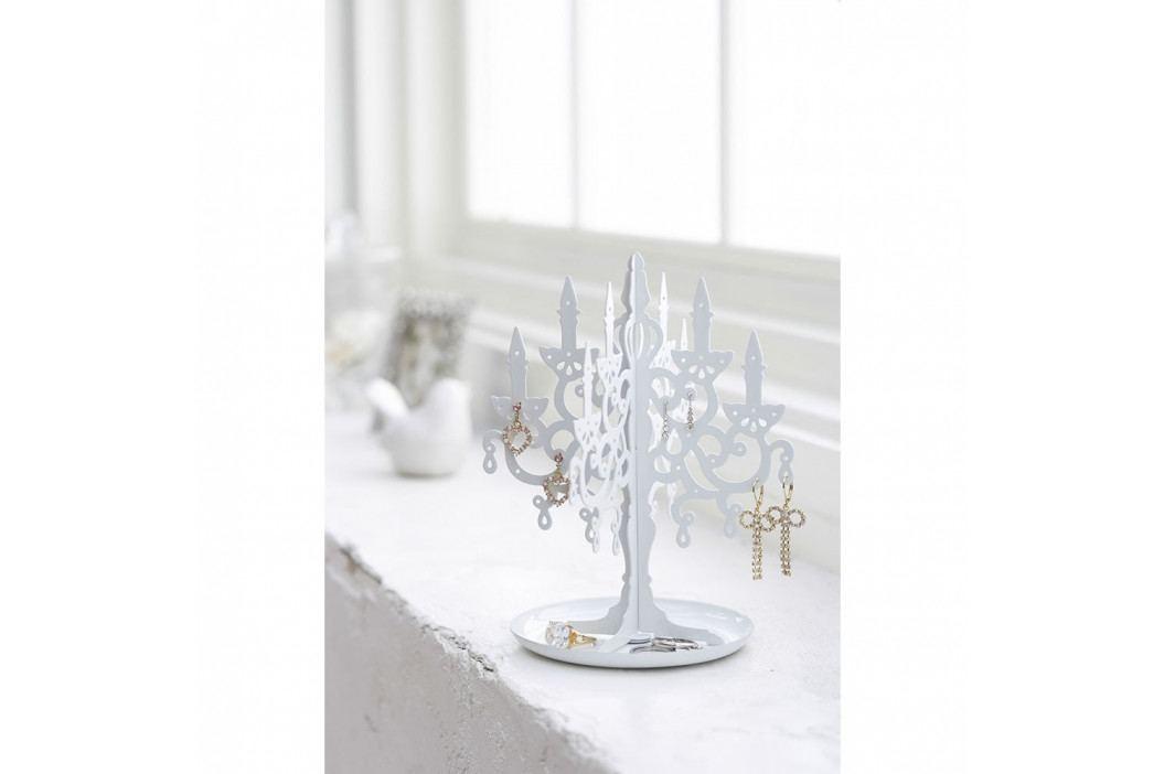 Bílý stojan na šperky YAMAZAKI Chandelier