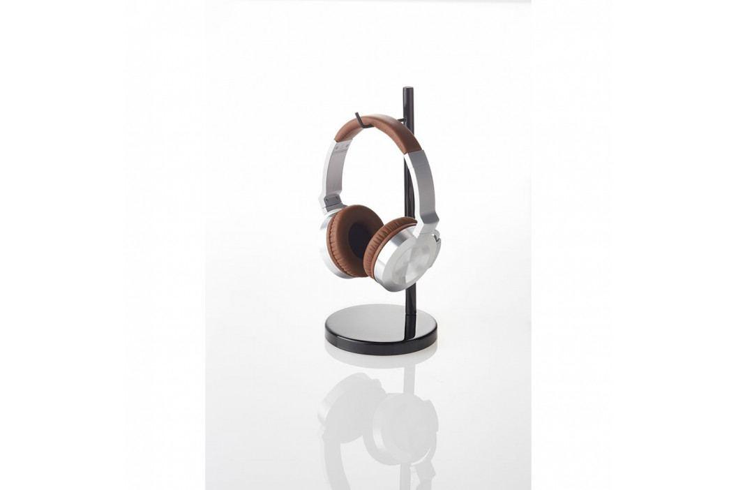 Černý stojánek na sluchátka YAMAZAKI Bautes