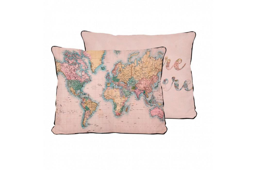 Povlak na polštář z mikrovlákna Surdic Pillow Map, 50x35 cm