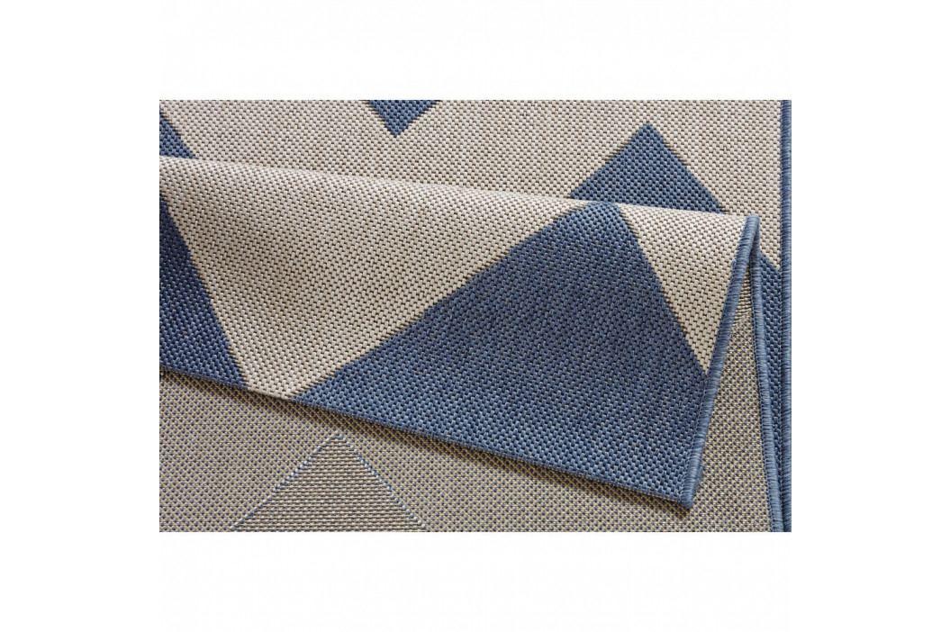 Modrobílý koberec vhodný do exteriéru Bougari Unique, 120x170cm