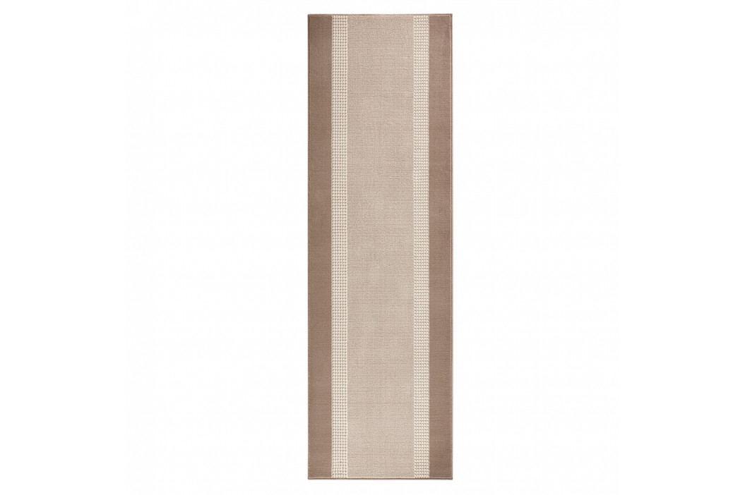 Béžový běhoun Hanse Home Monica, 80x200 cm