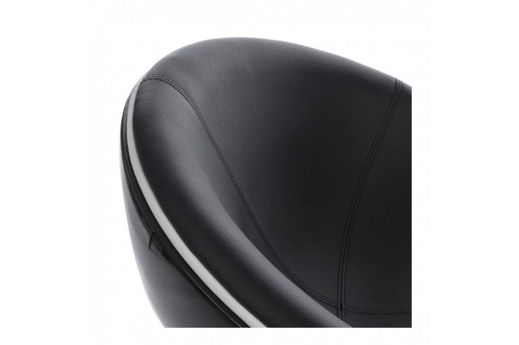 Černé otočné křeslo Kokoon Sphere obrázek inspirace