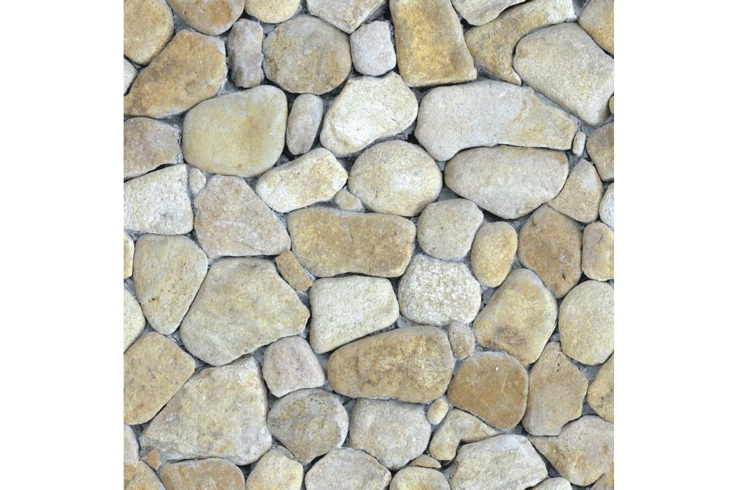 Nástěnná samolepka Ambiance Natural Pebble, 40 x 40 cm