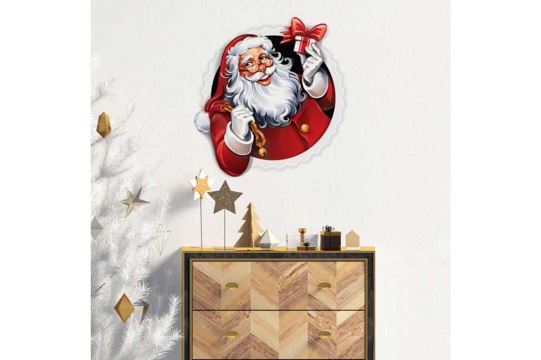 Vánoční samolepka Ambiance Santa Claus Design