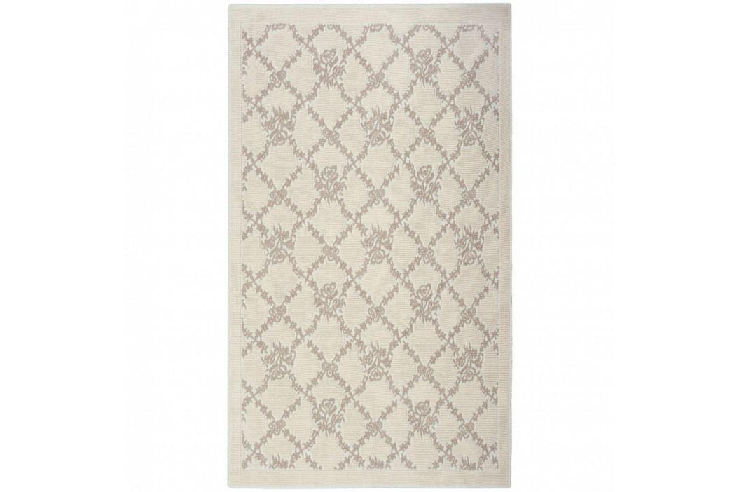 Krémový bavlněný koberec Floorist Mira, 120x180cm obrázek inspirace