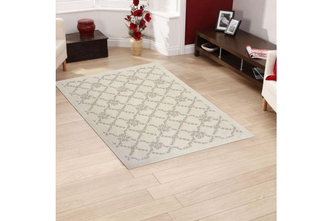 Krémový bavlněný koberec Floorist Mira, 120x180cm