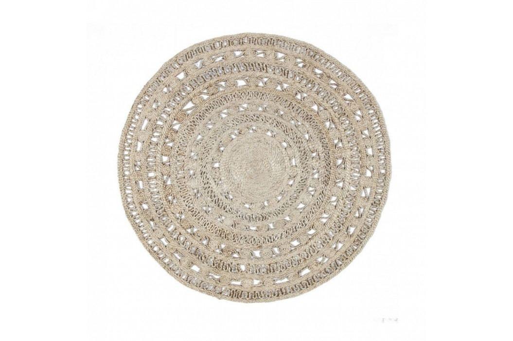 Jutový kruhový koberec Eco Rugs Orfelia, Ø120cm