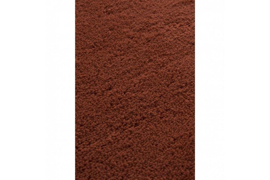 Cihlově červená koupelnová předložka Colors of Cap, ⌀ 90 cm obrázek inspirace