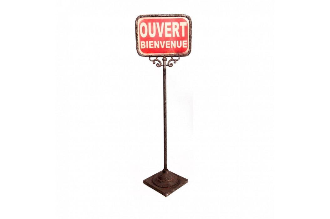 Oboustranná stojací cedulka Antic Line Ouver-Ferme obrázek inspirace
