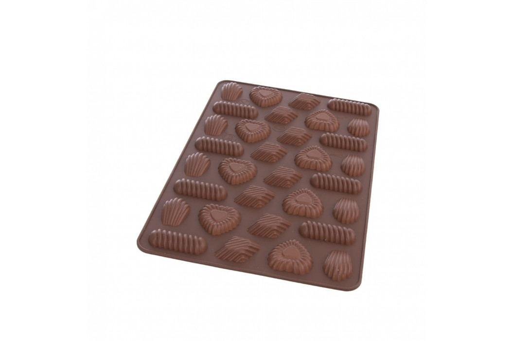 Hnědá silikonová forma Orion Candy, 31x21cm obrázek inspirace