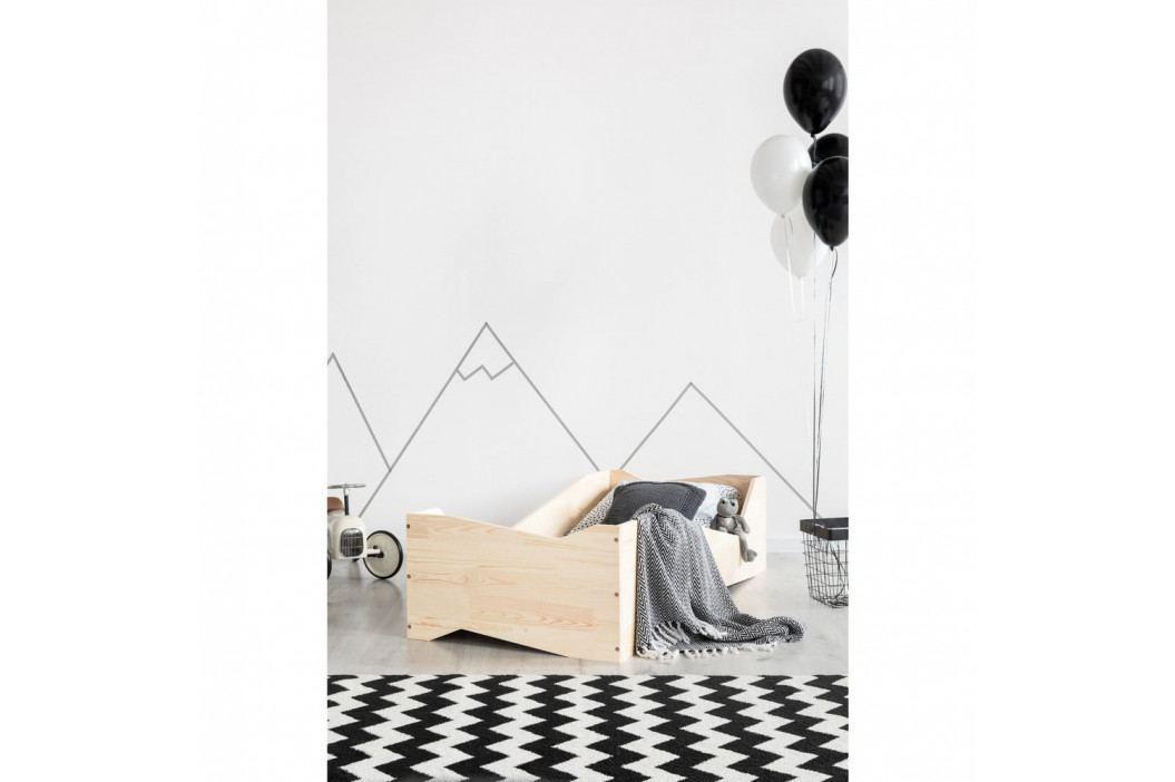 Dětská postel z borovicového dřeva Adeko BOX 5, 80x170 cm obrázek inspirace