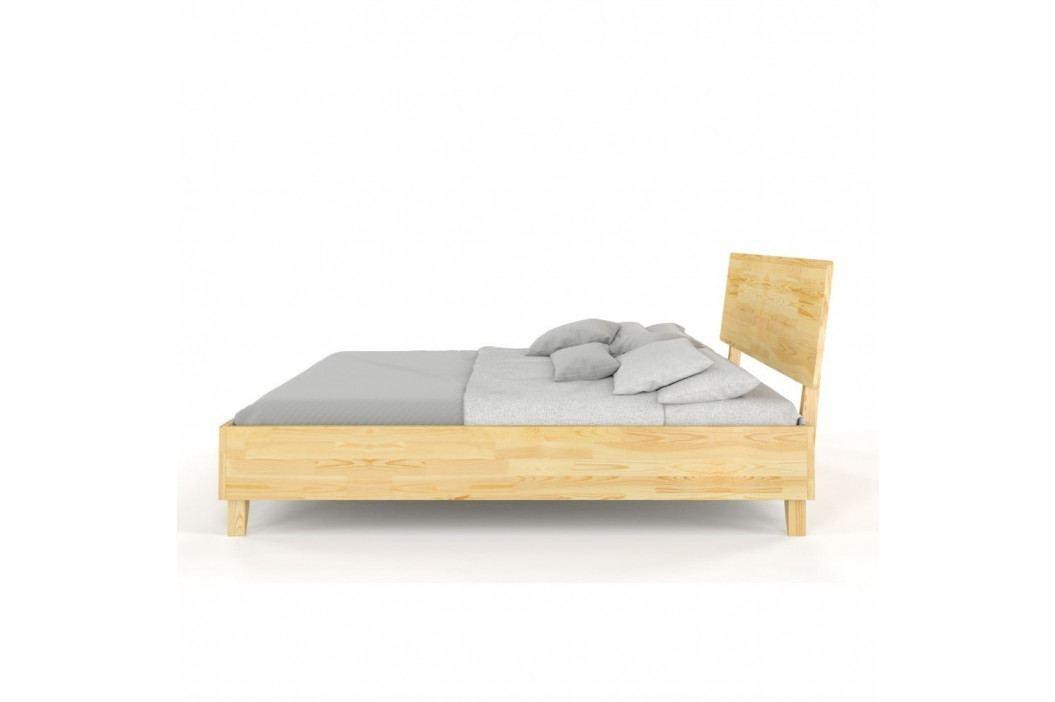 Dvoulůžková postel z masivního borovicového dřeva SKANDICA Viveca, 140 x 200 cm