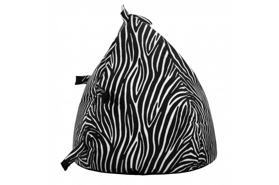 Dětský interiérový sedací vak KICOTI Zebra