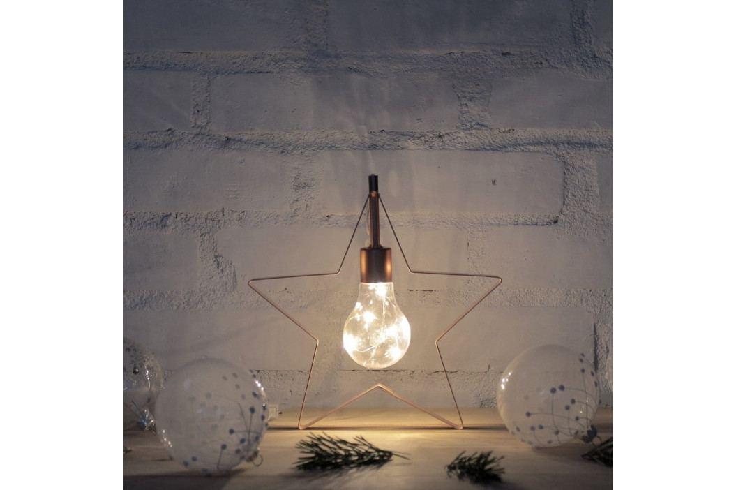 Dekorativní LED lampička ve tvaru hvězdičky DecoKing Star obrázek inspirace