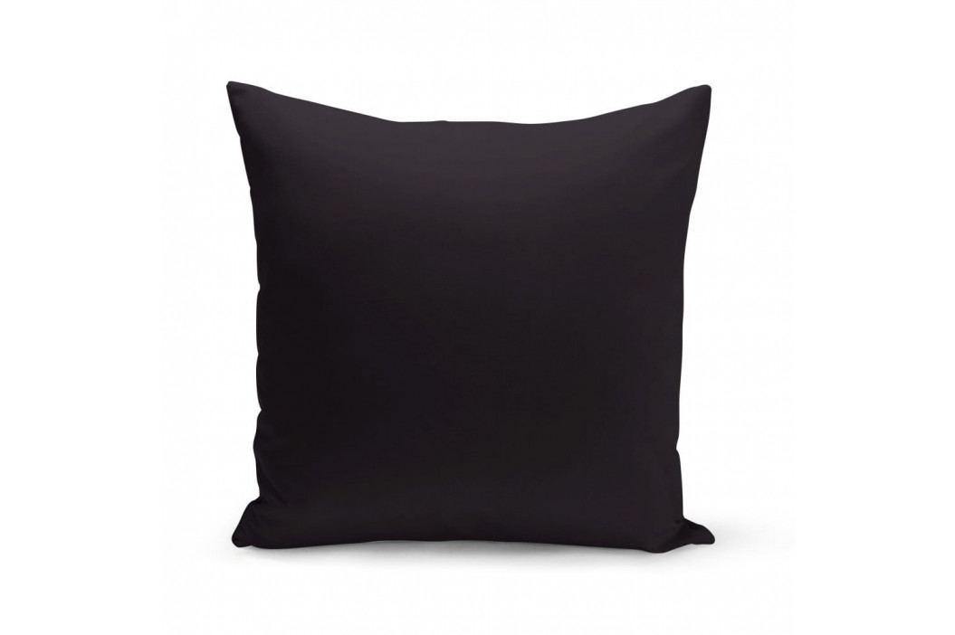 Černý polštář Kate Louise Simplo, 43 x 43 cm