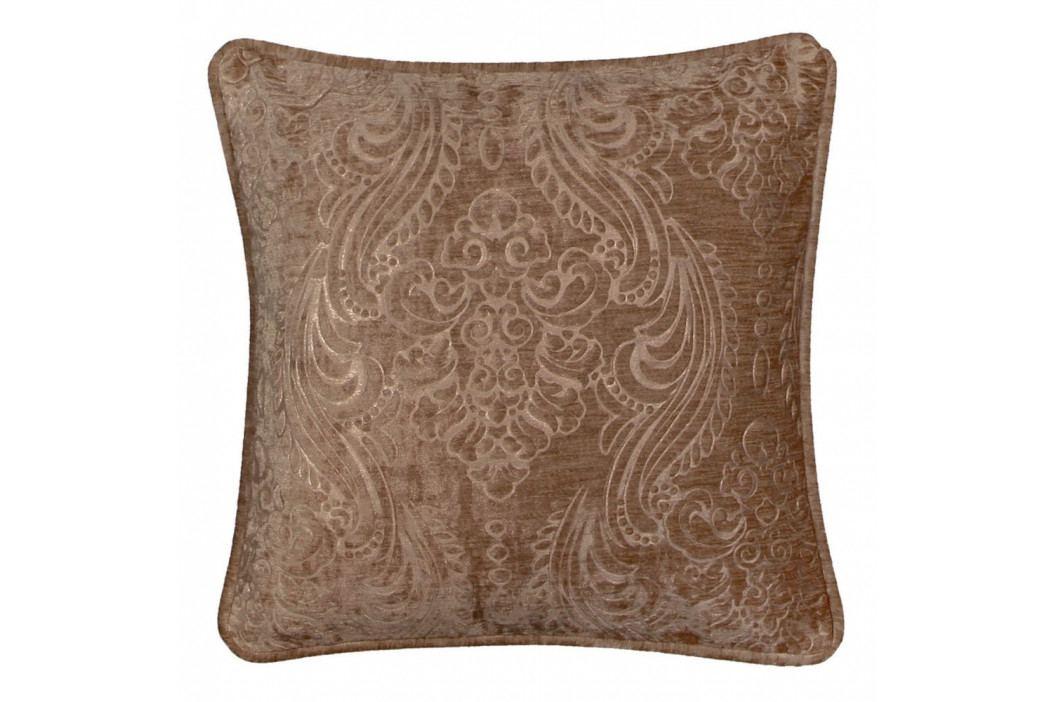 Hnědý polštář Kate Louise Exclusive Ranejo, 45 x 45 cm