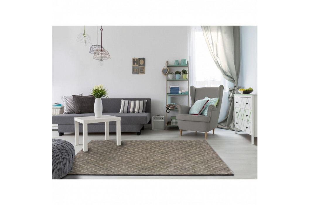Šedý koberec vhodný i na ven Universal Sofie Silver, 135 x 190 cm