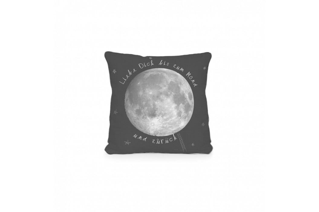 Oboustranný povlak na polštář z mikrovlákna Really Nice Things Moon, 45 x 45 cm
