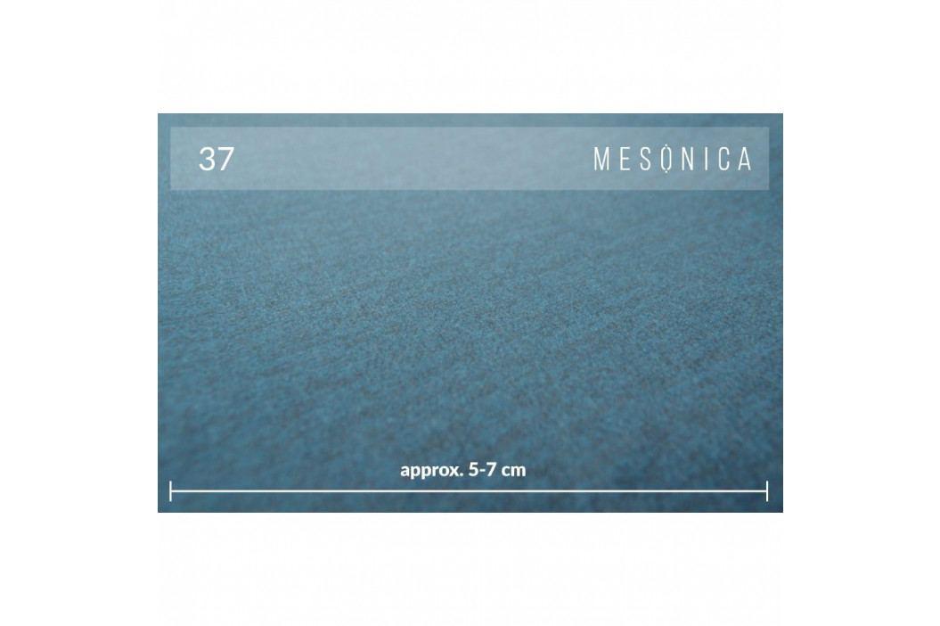 Modrá rohová pohovka MESONICA Puzzo, levý roh