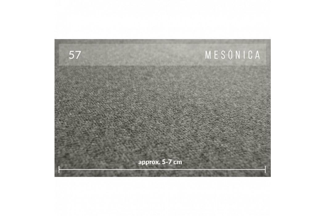 Tmavě šedá 2místná pohovka MESONICA Kobo