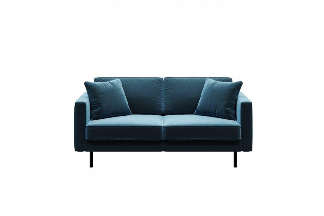 Modrá 2místná pohovka MESONICA Kobo