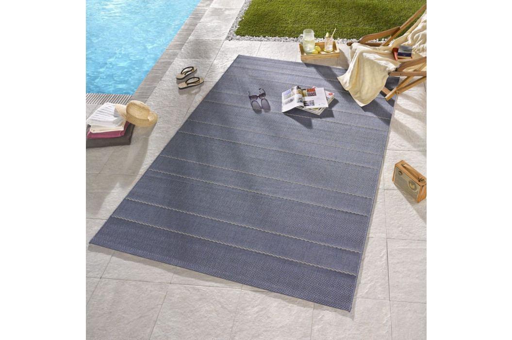 Modrý koberec vhodný i na ven Hanse Home Sunshine, 160 x 230 cm obrázek inspirace