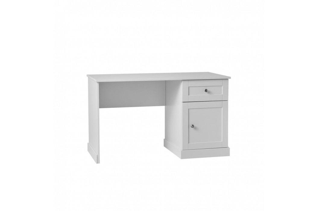 Bílý dětský psací stůl Pinio Marie