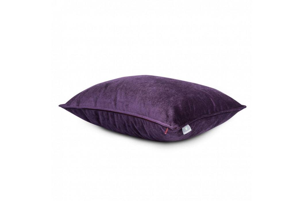 Tmavě fialový povlak na polštář WeLoveBeds, 40 x 60 cm