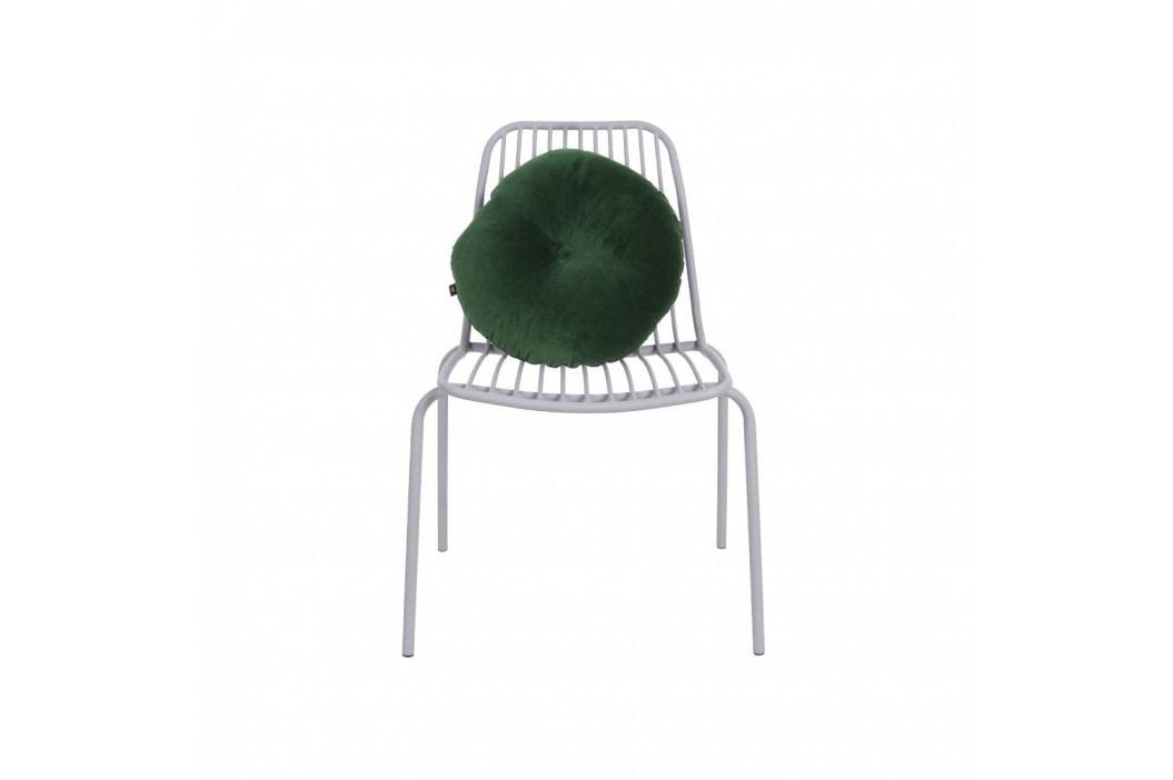 Šedá židle vhodná do exteriéru Leitmotiv Lineate obrázek inspirace