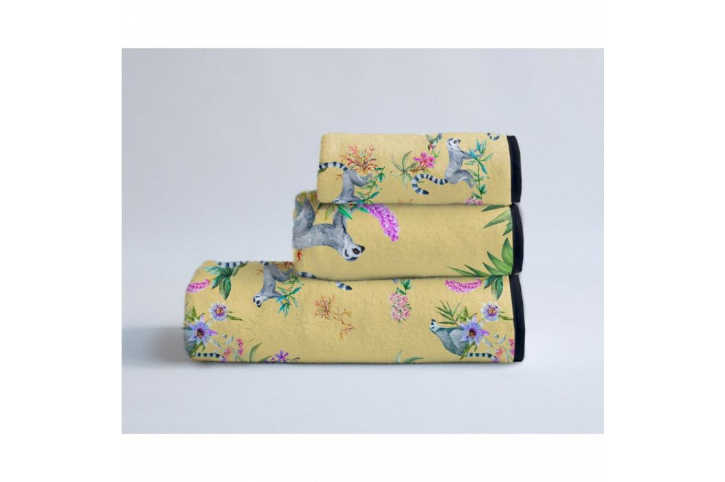 Sada 3 ručníků Madre Selva Lemur