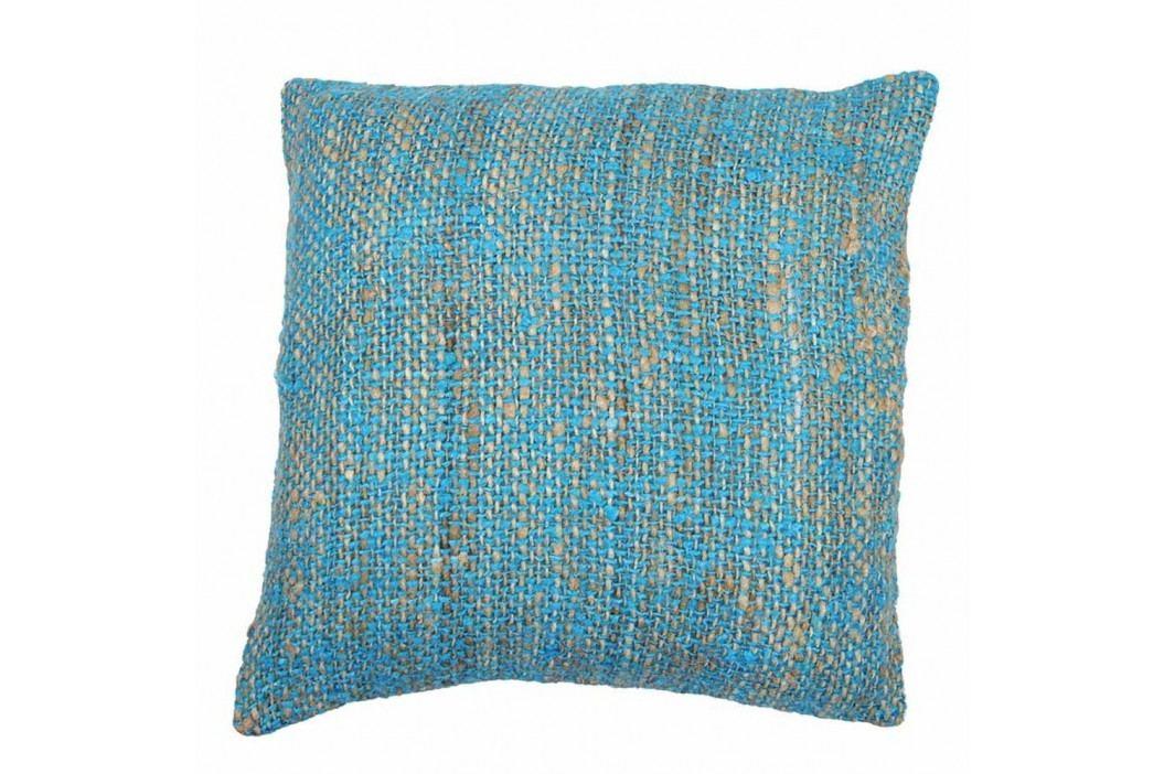 Modrý povlak na polštář Tiseco Home Studio Chambray, 45x45cm