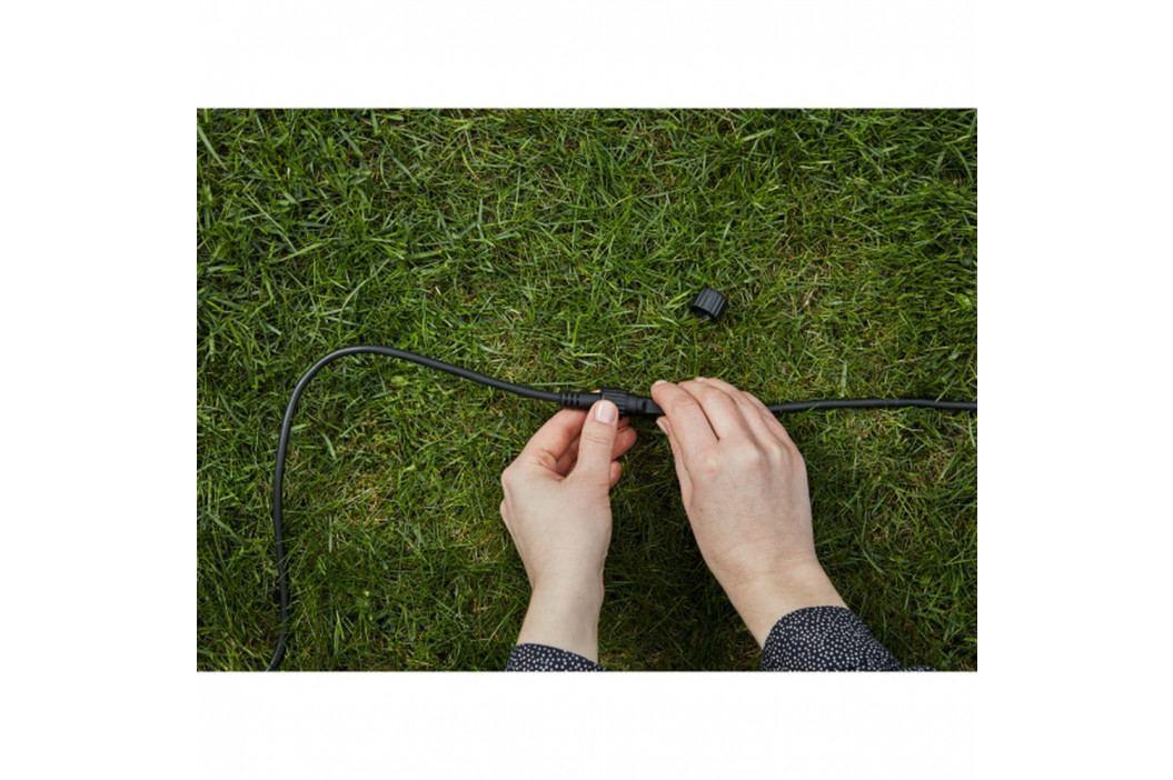 Černý prodlužovací kabel Markslöjd Garden, délka 2 m