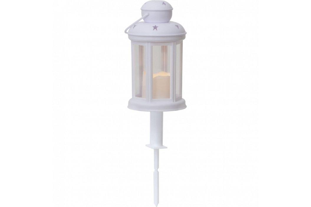 Bílá LED zahradní lucerna Best Season Serene Dos