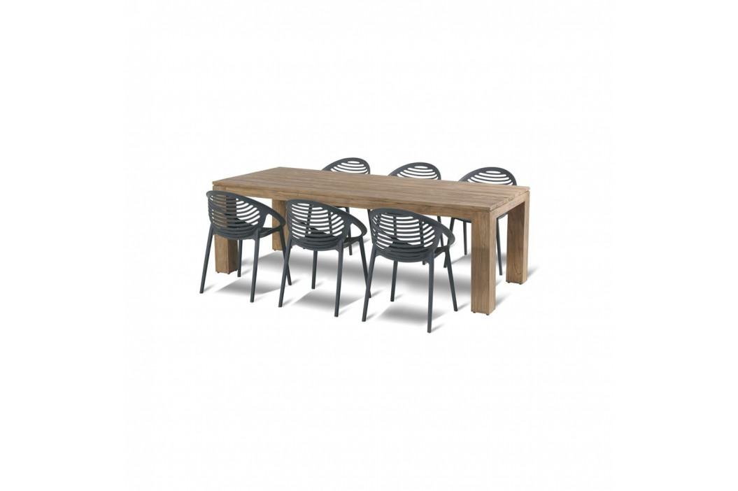 Černá stohovatelná zahradní židle Hartman Romeo