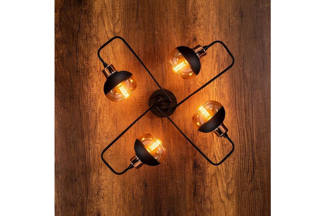 Černé nástěnné svítidlo Opviq lights Ani