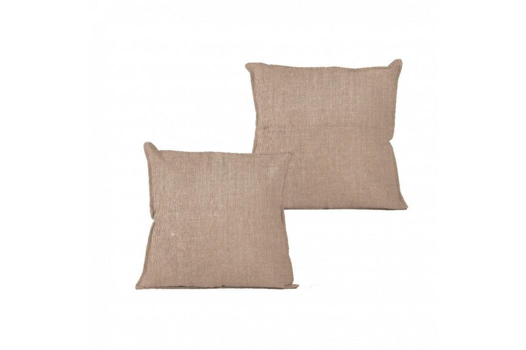 Polštář Linen Couture Natural, 45 x 45 cm