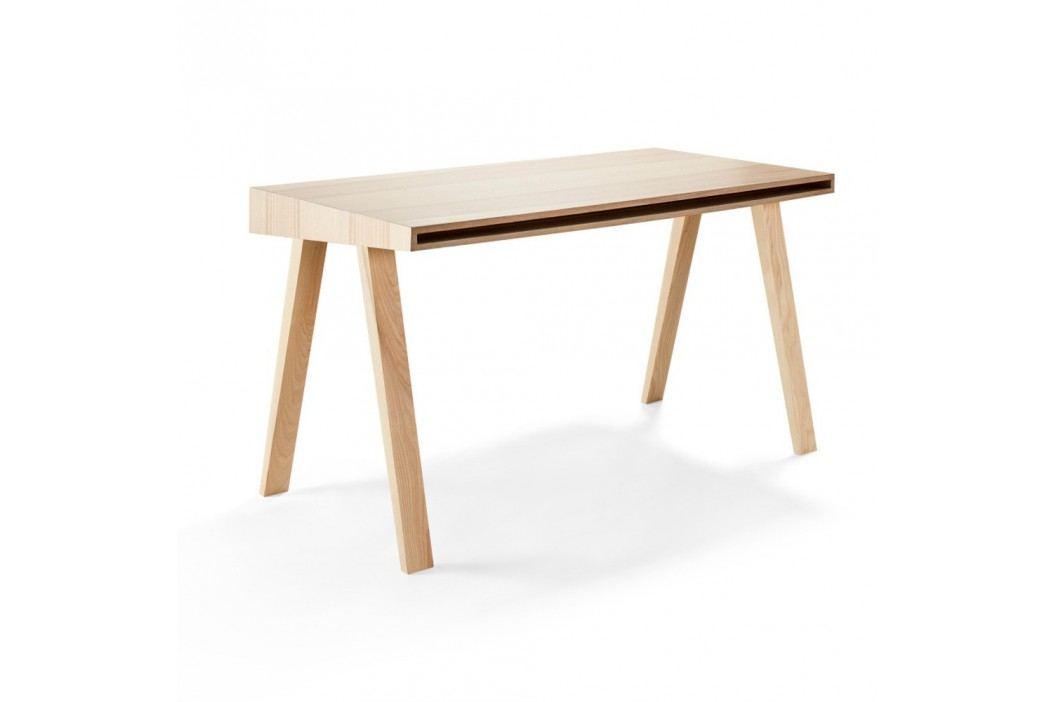 Psací stůl z litevského jasanu EMKO 4.9, 2 šuplíky
