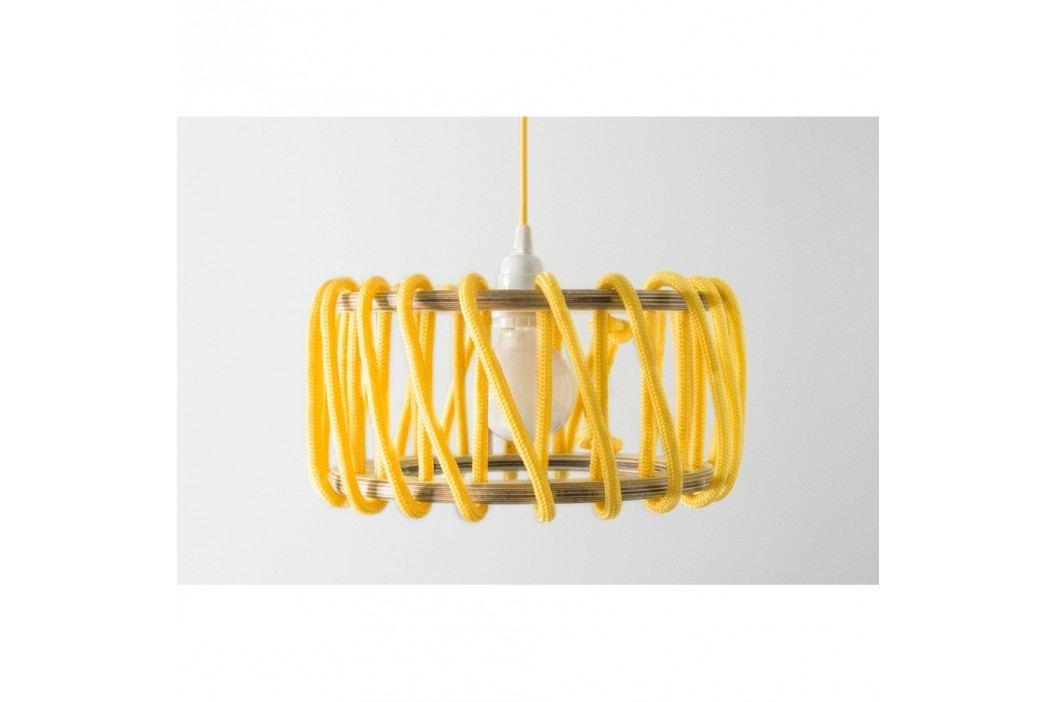 Žluté stropní svítidlo EMKO Macaron, 45cm