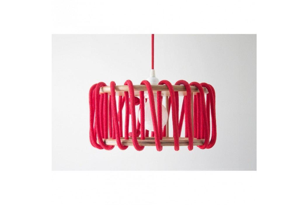 Červené stropní svítidlo EMKO Macaron, 30cm