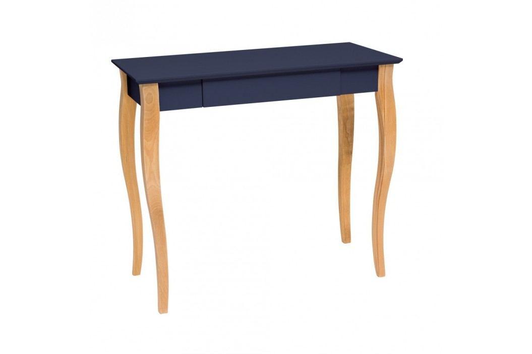 Grafitově šedý psací stůl Ragaba Lillo,délka85 cm